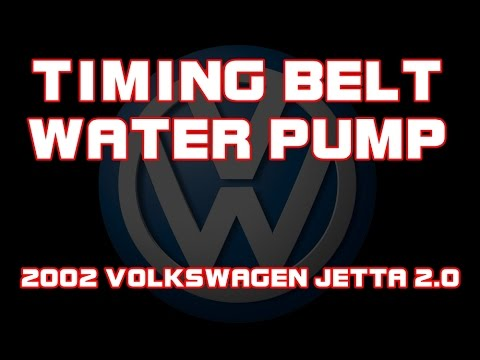 ⭐ 2002 Volkswagen Jetta - 20 - Timing Belt  Water Pump - YouTube