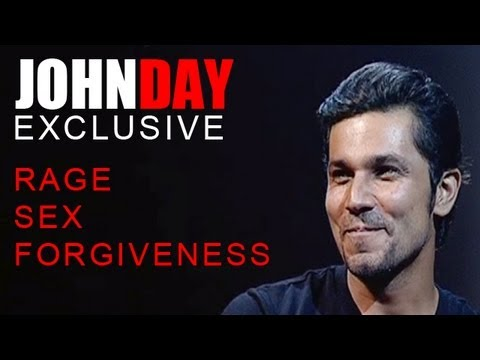 John Day  Randeep Hooda talks about Rage, Kiss, Sex, Forgiveness, LinkUps & more