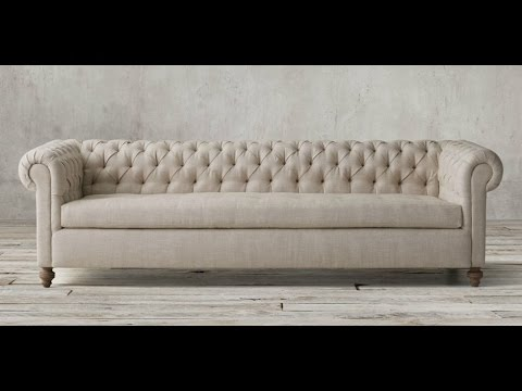 3Ds MAX Chesterfield sofa modeling stage3 - YouTube