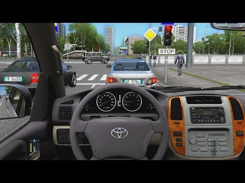 City Car Driving – Toyota Land Cruiser 100 | Fast Driving