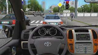 City Car Driving - Toyota Land Cruiser 100 | Fast Driving