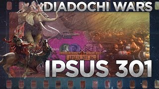 Battle of Ipsus (301 BC) - Wars of the Diadochi DOCUMENTARY