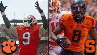 ACC Football Rewind: 2017 & 2018 Clemson vs. Syracuse