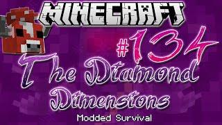 """DOUBLE MINOSHROOM BOSS"" | Diamond Dimensions Modded Survival #134 | Minecraft"