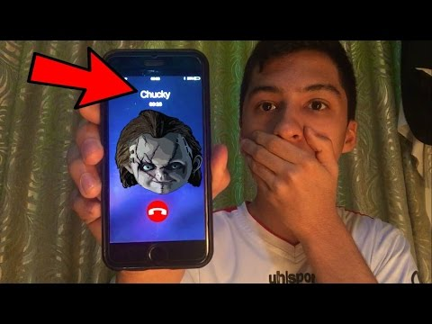 Thumbnail: CALLING CHUCKY DOLL *OMG HE ACTUALLY ANSWERED*