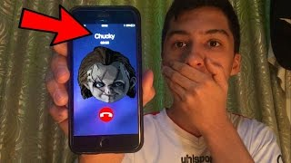 CALLING CHUCKY DOLL *OMG HE ACTUALLY ANSWERED*