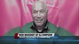 New mugshot of OJ Simpson released