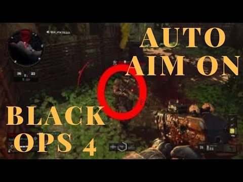 HOW TO AUTO SNAP AIM ON A TARGET: CALL OF DUTY BLACK OPS 4 GAMEPLAY TUTORIAL