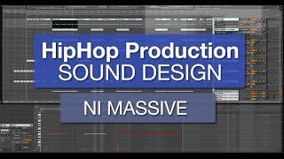 HipHop Sound Design - Deep Horn Sound with NI Massive