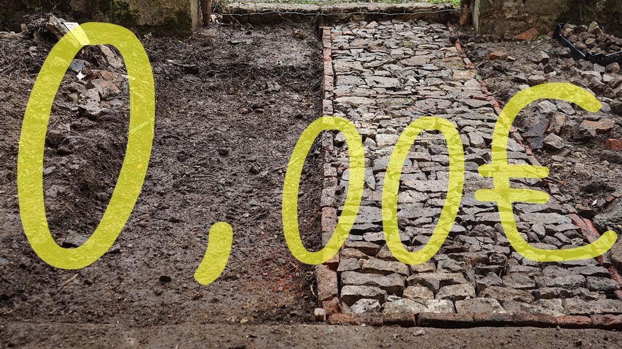 Download Cómo hacer un sendero de piedra por 0€