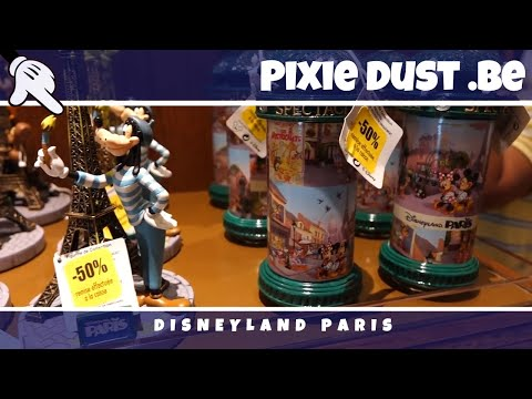 Exceptional sales in the shops of Disneyland Paris August 2016