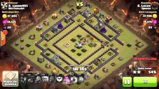 [Clash of Clans] | Shattered LaLoon | TH9 | 3stars #021