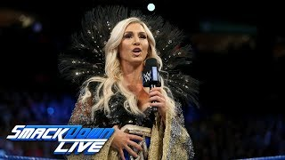 Charlotte Flair and Naomi react to the Women's Royal Rumble Match: SmackDown LIVE, Dec. 19, 2017