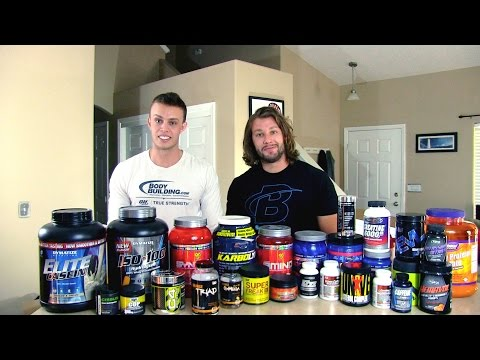 Essential Supplements for Building Muscle and Losing Fat