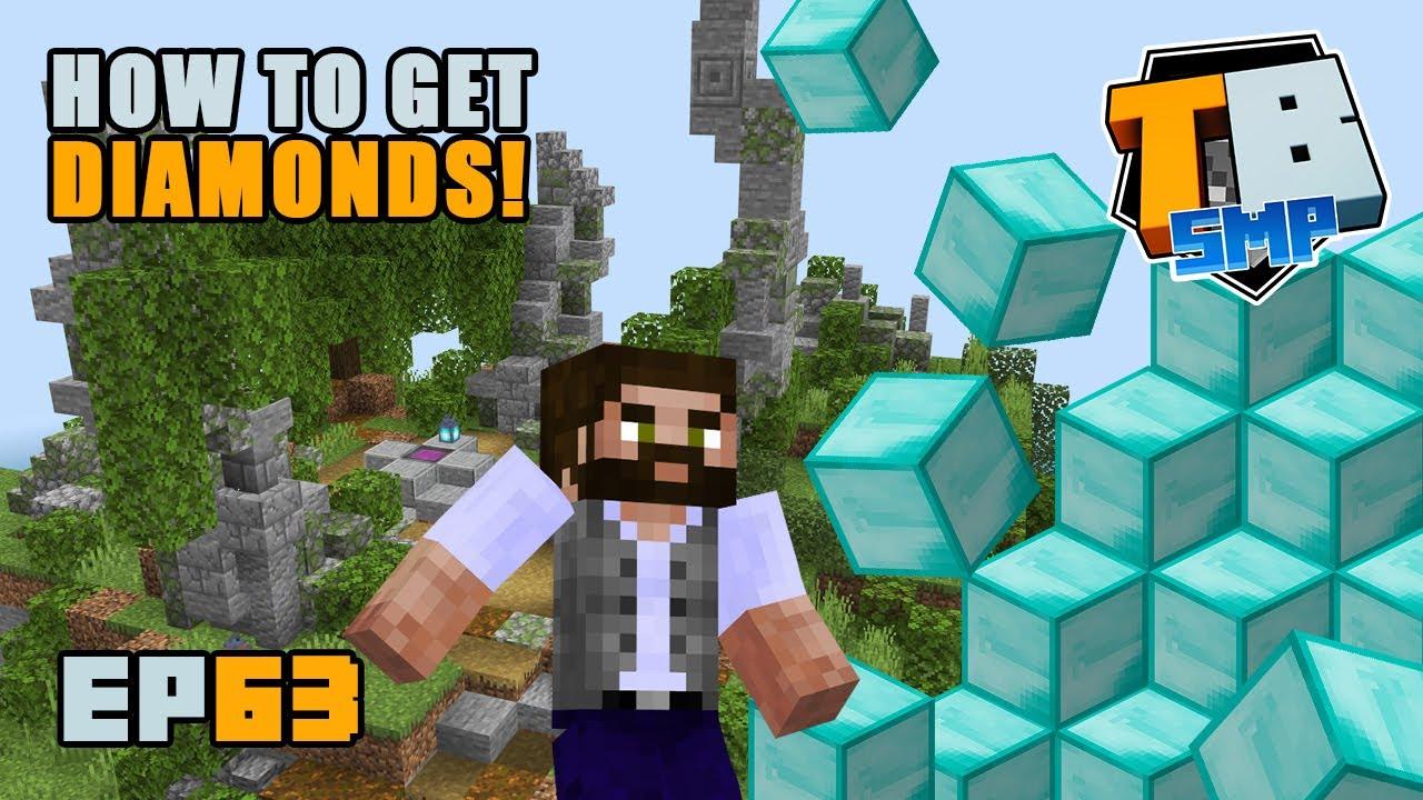 How to get diamonds! | Truly Bedrock Season 2 [63] Minecraft Bedrock SMP