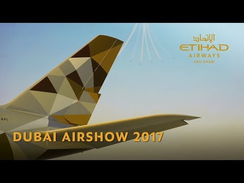 Etihad Airways at Dubai Airshow 2017