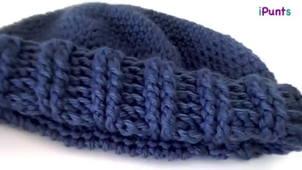 Tutorial punto el?stico a crochet paso a paso - YouTube