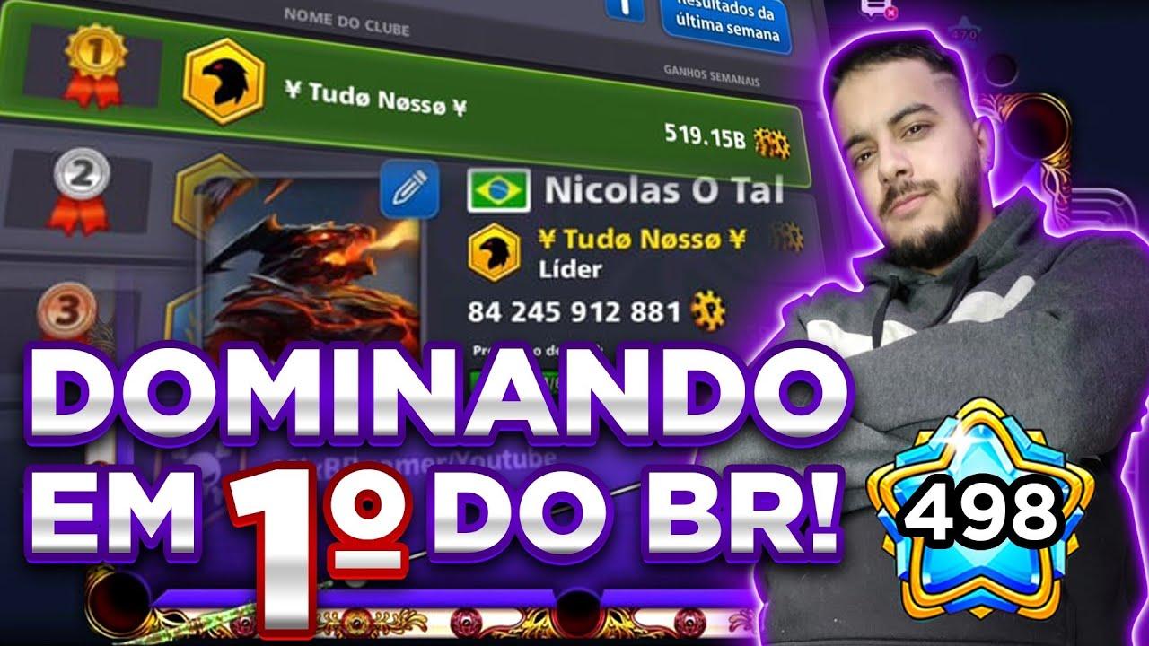 519 BILHÕES DE RANKING! EQUIPE BRASILEIRA DOMINOU O PAÍS! INCRIVEL!