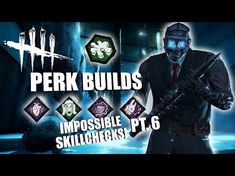 IMPOSSIBLE SKILLCHECKS! PT. 6 | Dead By Daylight THE DOCTOR PERK BUILDS