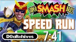 Super Smash Bros. (N64) Speedrun of 7:41 | DGaRchives