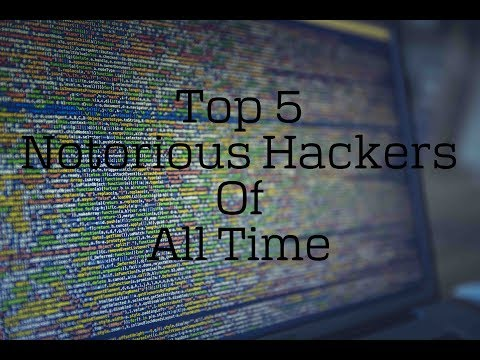 TOP 5 NOTORIOUS HACKERS OF ALL TIME.