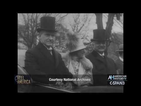 Calvin Coolidge 3-4-1925 Presidential Inauguration Silent Film