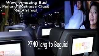 Trip To Baguio With GENESIS TRANSPORT's JOY BUS Cubao Deluxe Experience Feb.2019