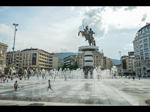 In Skopje geht es heiss und stürmisch zu - Vlog #26