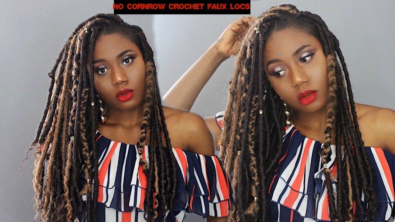 HOW TO Bomba Crochet Goddess Faux Locs Individual
