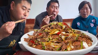 "ChefChao failed to make ""sautéed beef with green onions"", and it was not fun with rice!"