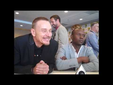 The Exorcist Season 2 Ben Daniels, Alfonso Herrera, Kurt Egyiawan Interview