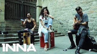 INNA - Take Me Higher | Live on the street @ Barcelona