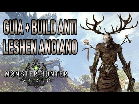 GUÍA + BUILD ANTI LESHEN ANCIANO - Monster Hunter World (Gameplay Español) thumbnail