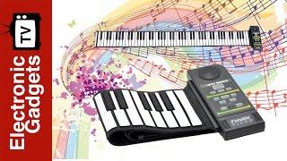Flexible 88 Key Roll Up Keyboard Piano with Loud Speaker - Best Music Gadgets for Kids