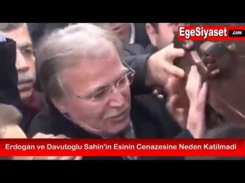 Erdoğan ve Davutoğlu Şahin'in Eşinin Cenazesine Neden Katılmadı