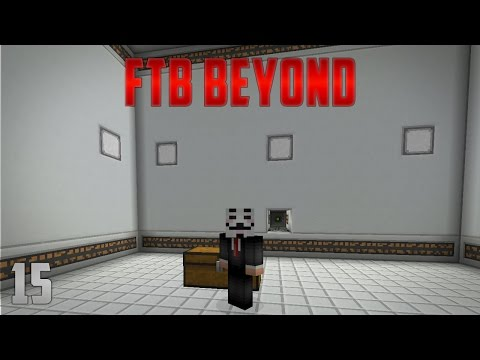 FTB Beyond EP15 Nanobot Beacon + Reconstructor Automation