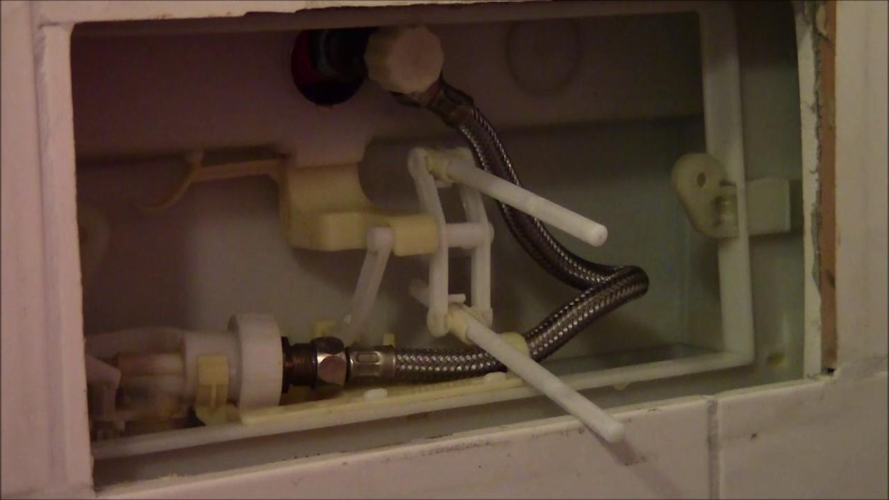 Reparatur Spülkasten Toilette Wasser Läuft Dauernd Durch Heimwerken