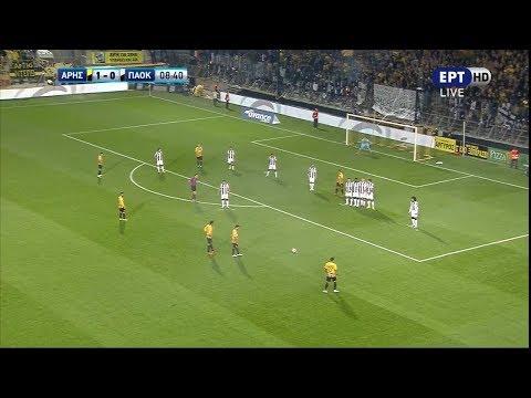 ⚽️ Άρης - ΠΑΟΚ 1-2 Highlights | Super League 7η αγ. {21.10.2018}
