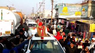 abdullah azam khan s first road show by zia ahmad
