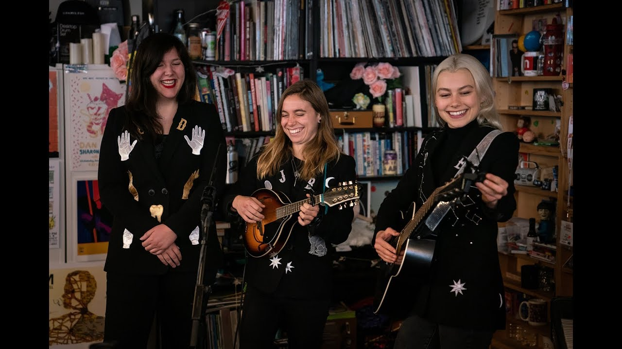 Image result for boygenius tiny desk