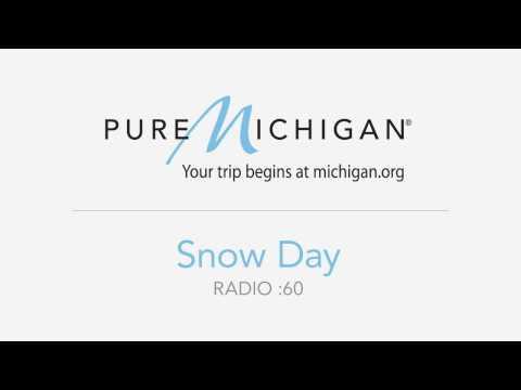 Travel Michigan Radio - Snow Day :60