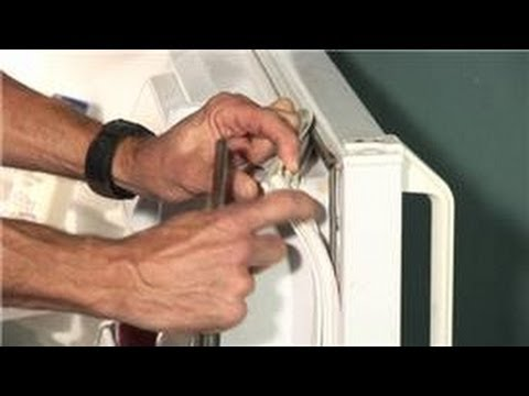 Home Appliance Repair : How to Repair a Refrigerator Door Gasket