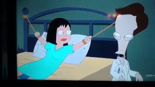 American Dad Roger Smith steals Jeff Fisher's skin