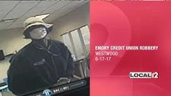 Emery Credit Union on Glenncrossing Way robbed at gunpoint