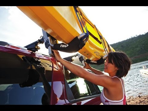 Universal Kayak Rack Install Youtube