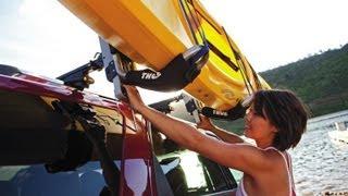 Universal Kayak Rack install