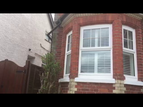 Tier on tier shutter bay window install