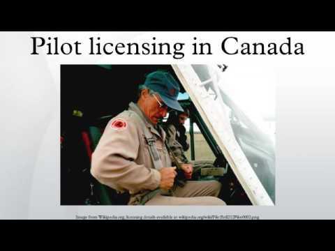 Pilot licensing in Canada
