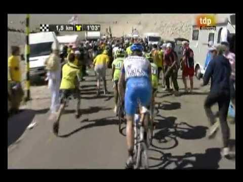 """Lance Armstrong 5º - Tour de France 2009 """"Montelimar - Mont Ventoux"""" - (Gárate vencedor)"""