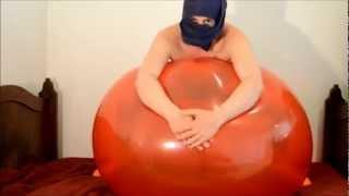 Big red balloon ride pop